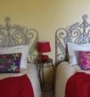 Chambre BabaYaga, 2 lits jumeaux dans une ambiance Bohème