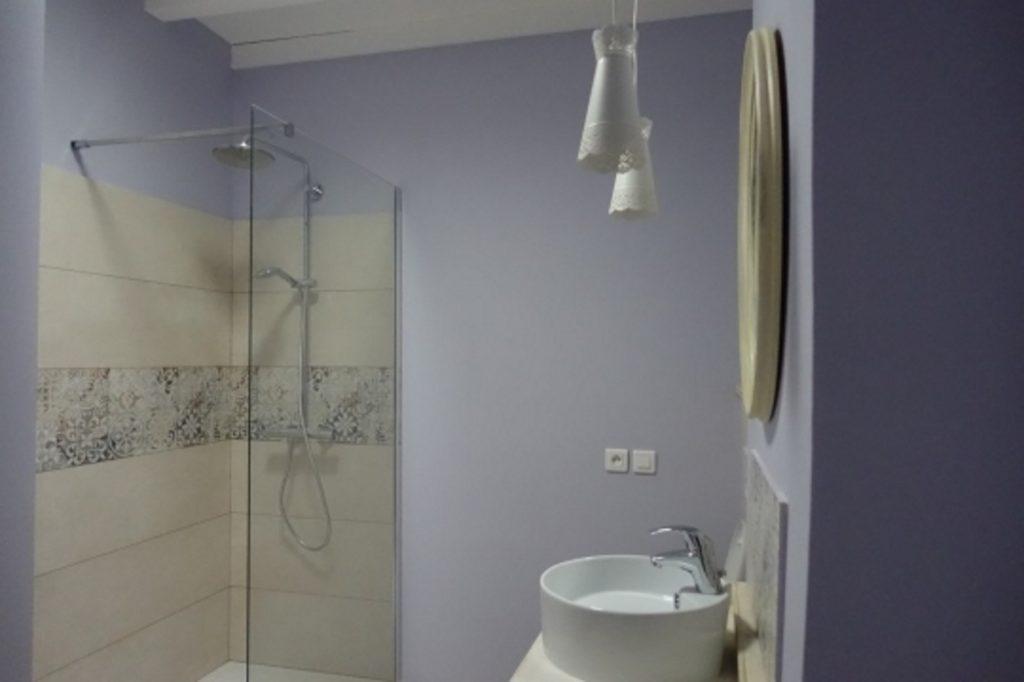 Salle de bains chambre Occitane Brin de Cocagne