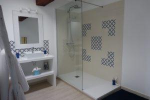 Salle de bains chambre Lapérouse Brin de Cocagne