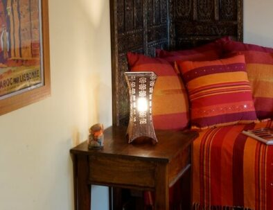decoration chambre safran