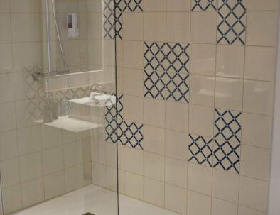 Douche à l'italienne chambre Lapérouse