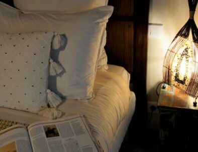 literie chambre Toulouse Lautrec