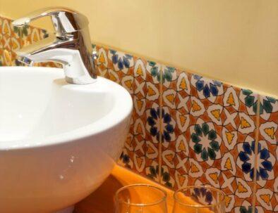 salle de bain chambre safran