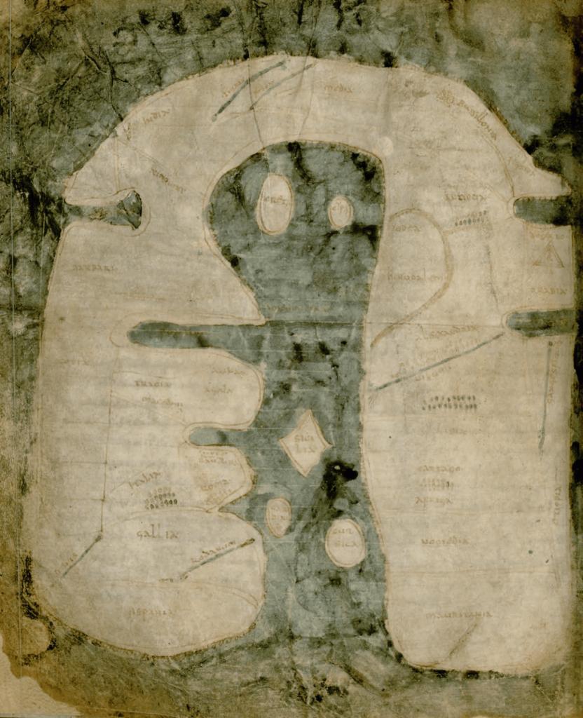 Mappa mundi d'albi, classée Patrimoine Mondial de l'Unesco