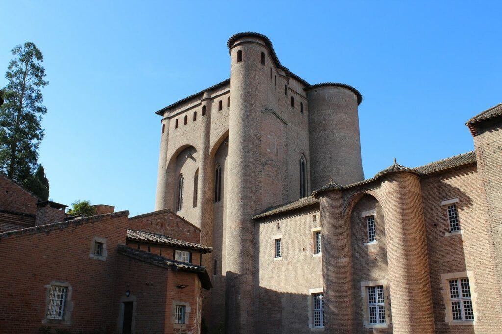 Le palais de la Berbie à Albi, classée Patrimoine Mondial de l'Unesco
