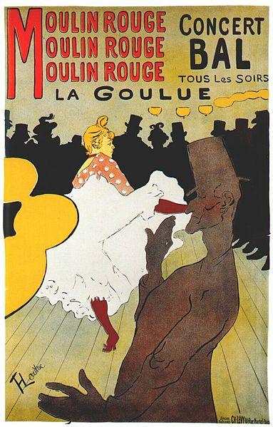 La Goule - œuvre de Toulouse Lautrec au Palais de la Berbie, Albi, classée Patrimoine Mondial de l'Unesco